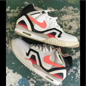 premium selection e303c a8356 Nike Shoes - Nike Air Tech Challenge II Andre Agassi LAVA